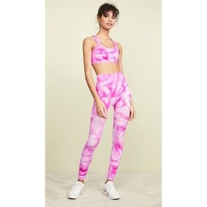 New Free People Movement Tie Dye Set Size : XS/S